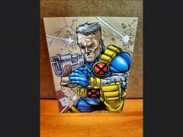 PSC (Personal Sketch Card) by Chris Foreman