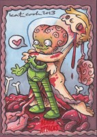 Mars Attacks 2012 by Katie Cook